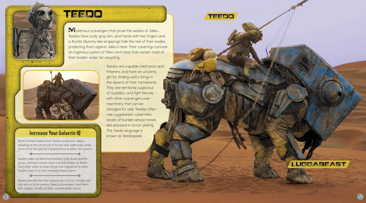 Star Wars: Aliens of the Galaxy - Teedo