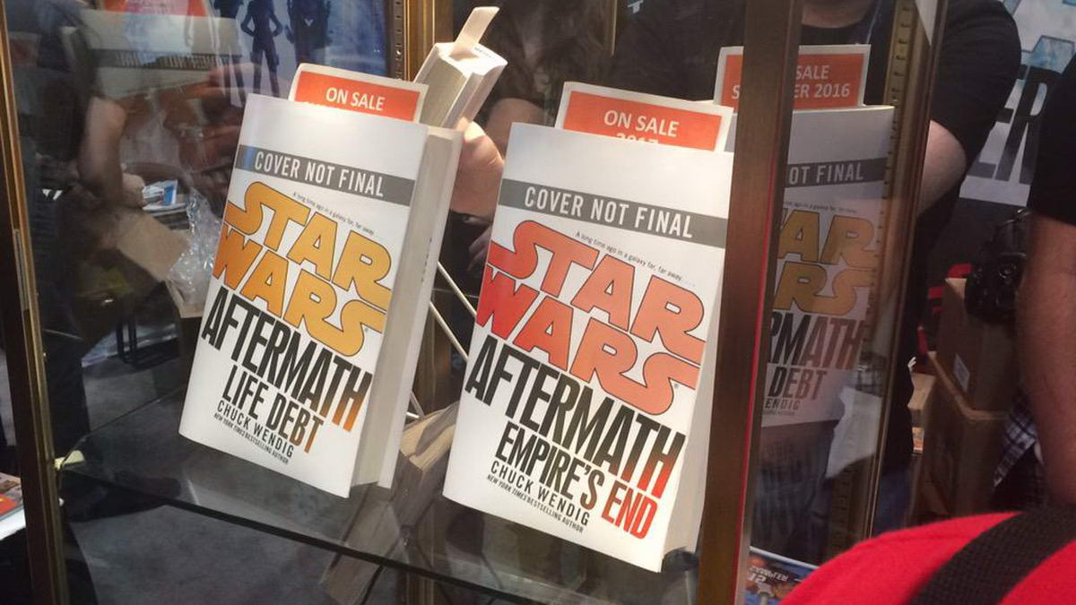Star Wars Aftermath, книги 2 и 3