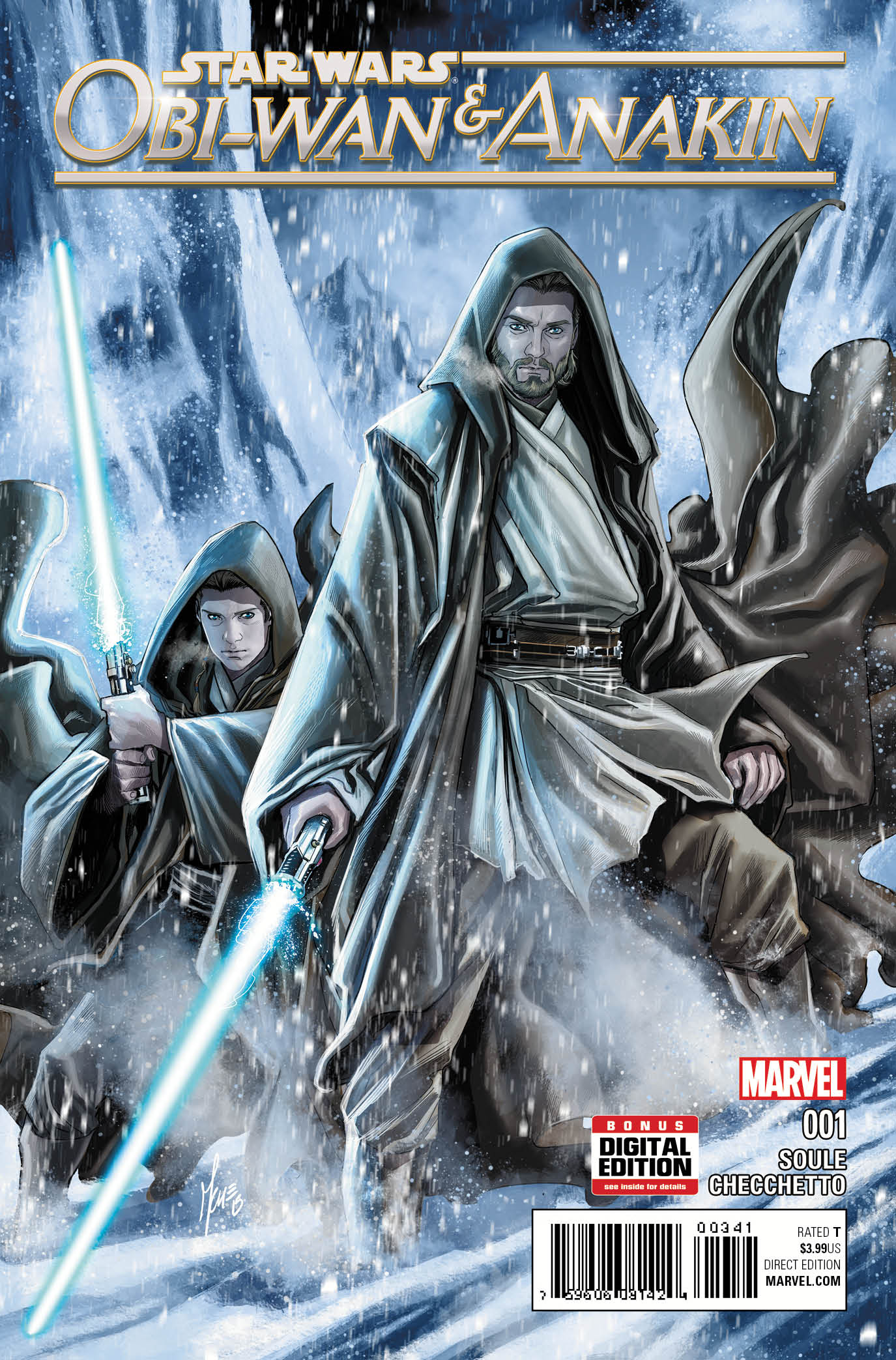 Obi Wan and Anakin 1 Marco Checchetto Cover bfac1