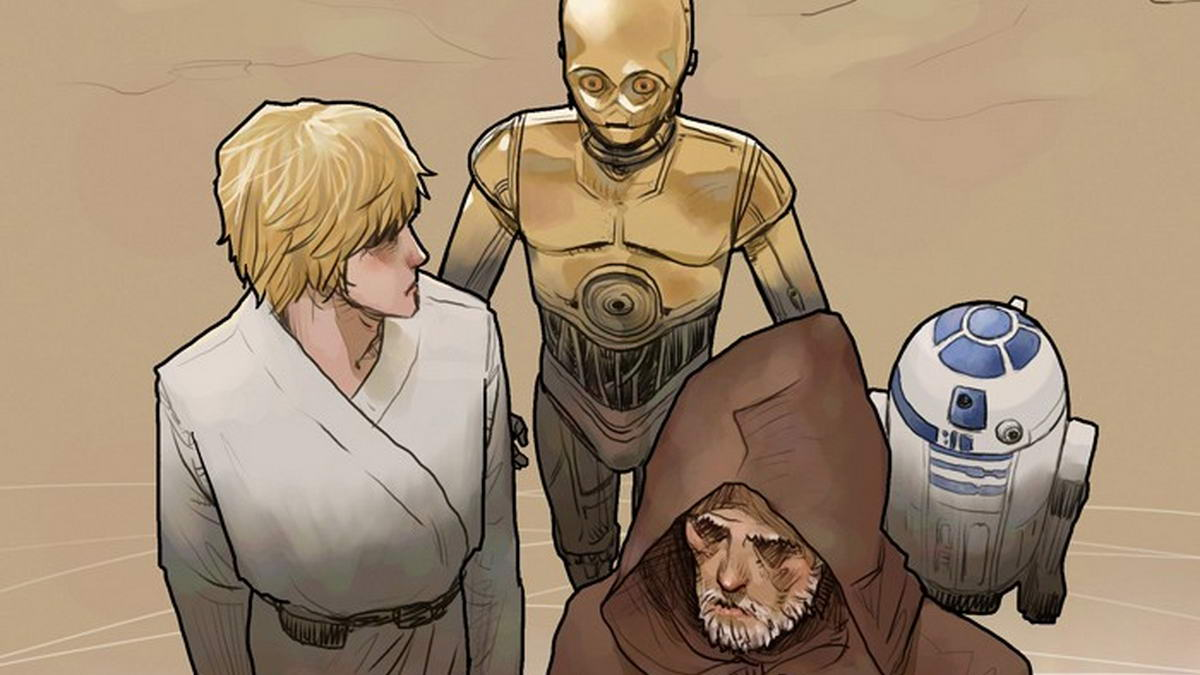 LINE Webtoon Star Wars