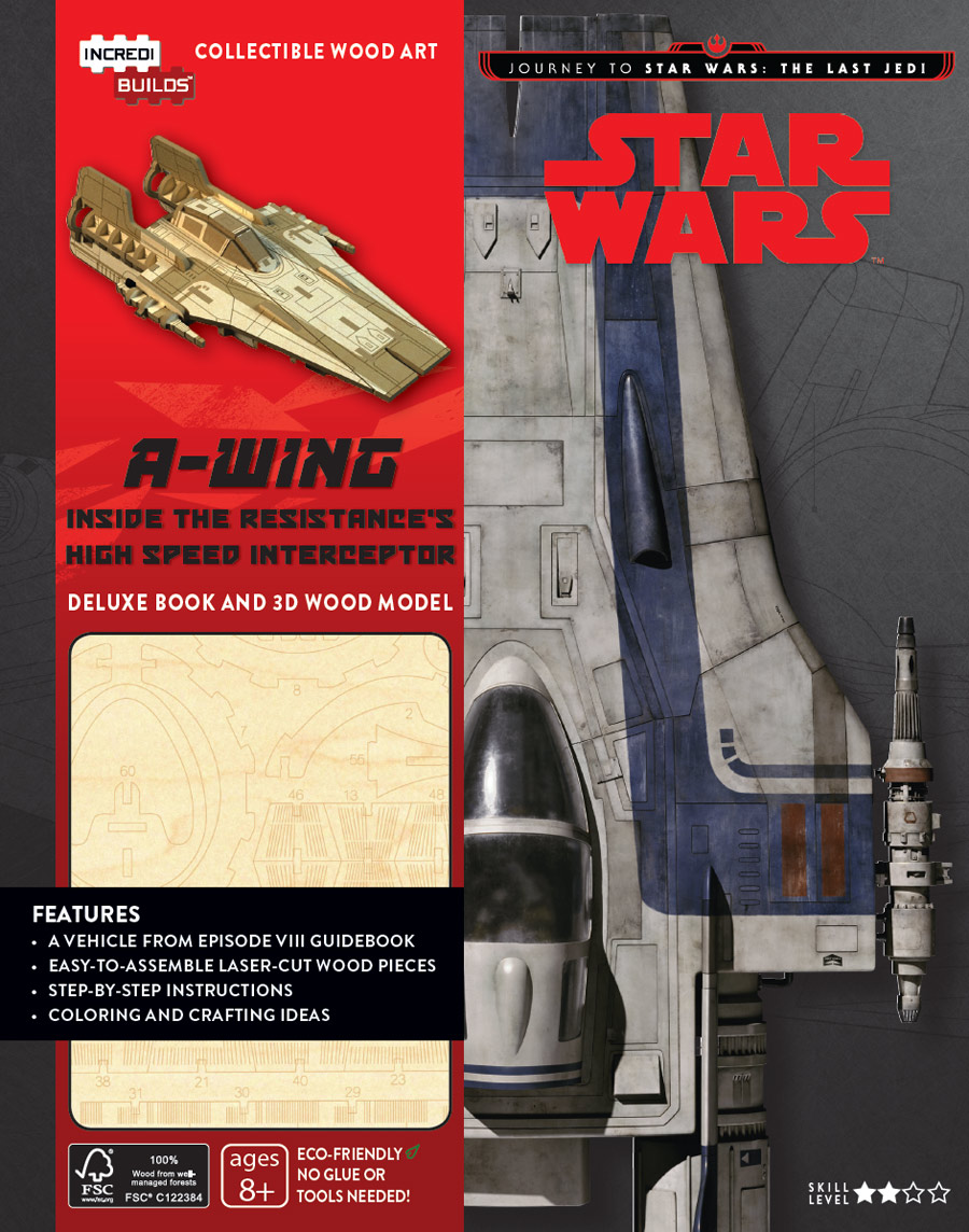 Journey to Star Wars The Last Jedi - A-Wing