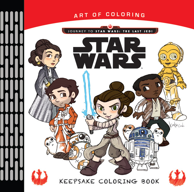 Journey to Star Wars The Last Jedi - Art of Coloring