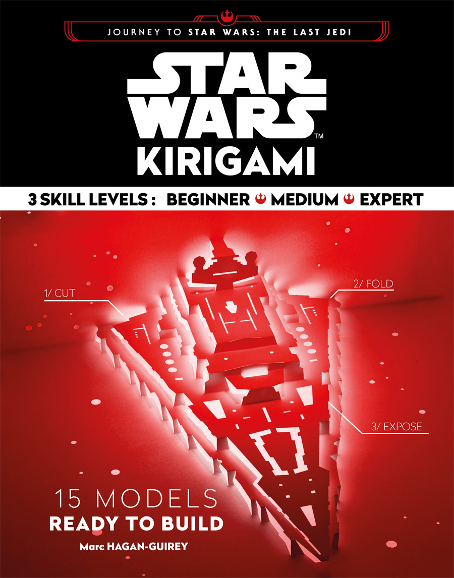 Journey to Star Wars The Last Jedi - Kirigami