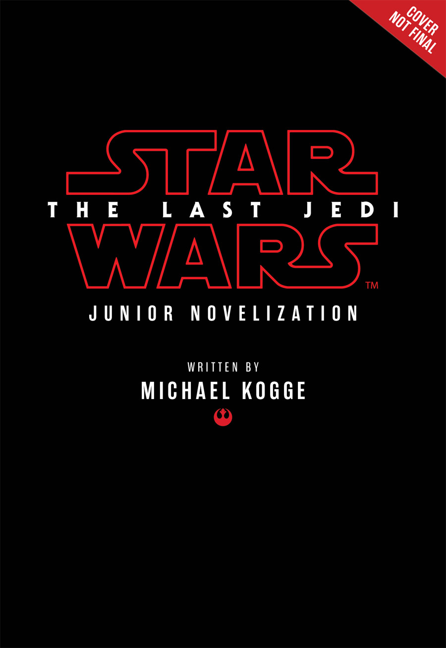 The Last Jedi Junior Novellization