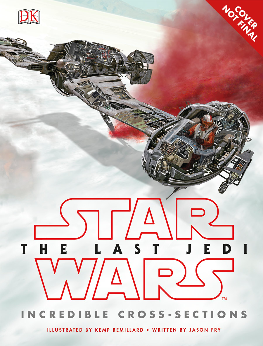 The last Jedi Incredible Cross-Sections