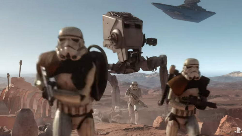 Star Wars Battlefront E3 2015 Trailer