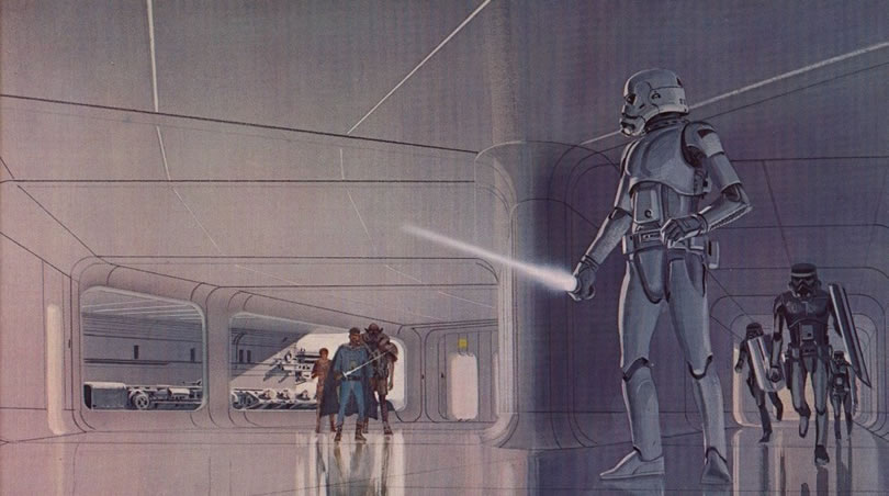 Absolutely Original Concept Star Wars Art Ideas By Ralph McQuarrie 8
