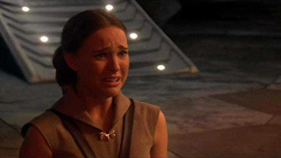 padme crying