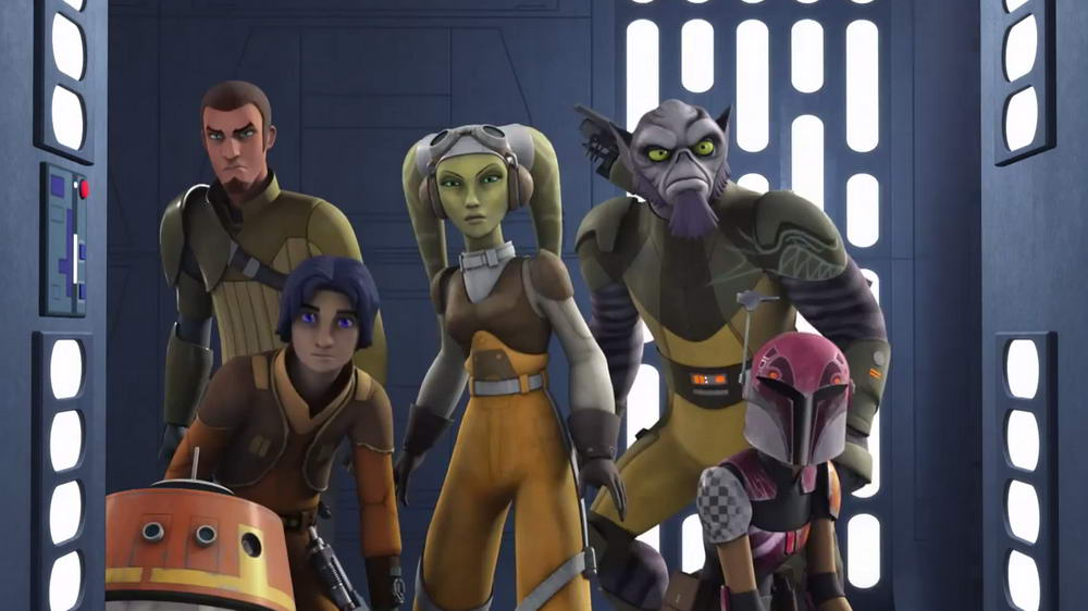Star Wars Rebels Season Two Trailer Official