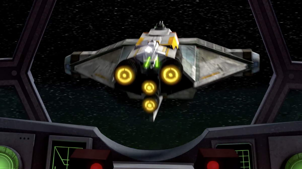 Star Wars Rebels The Machine in the Ghost