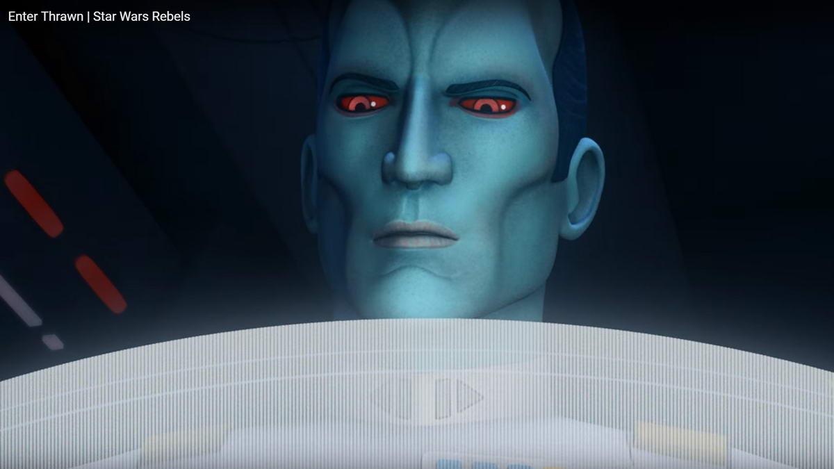 Мультсериал Звездные Войны: Повстанцы (Star Wars Rebels): адмирал Траун