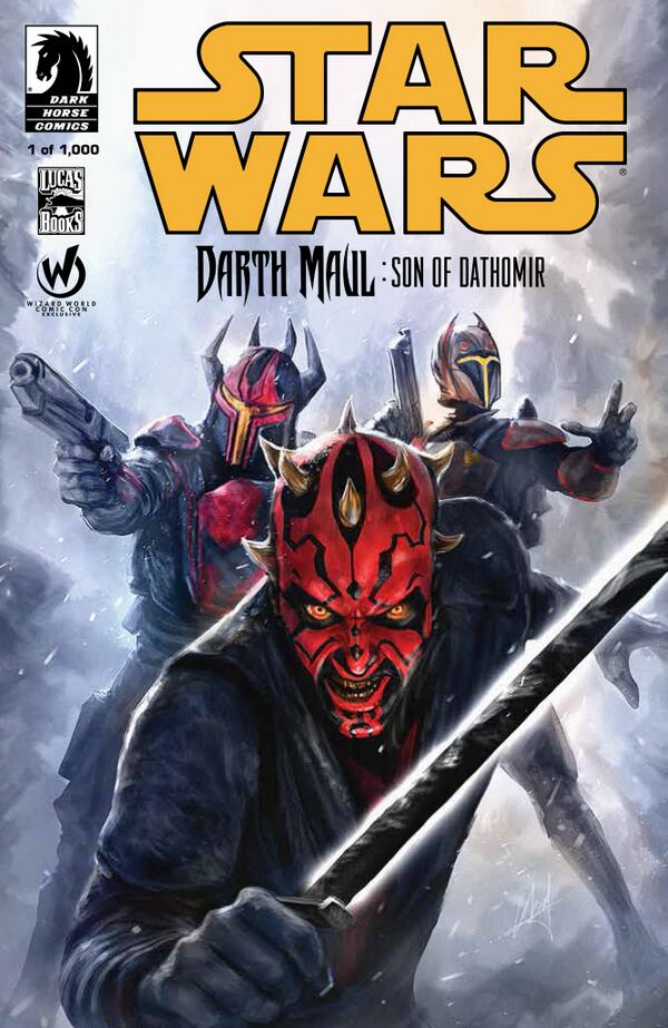 Darth Maul Son of Dathomir