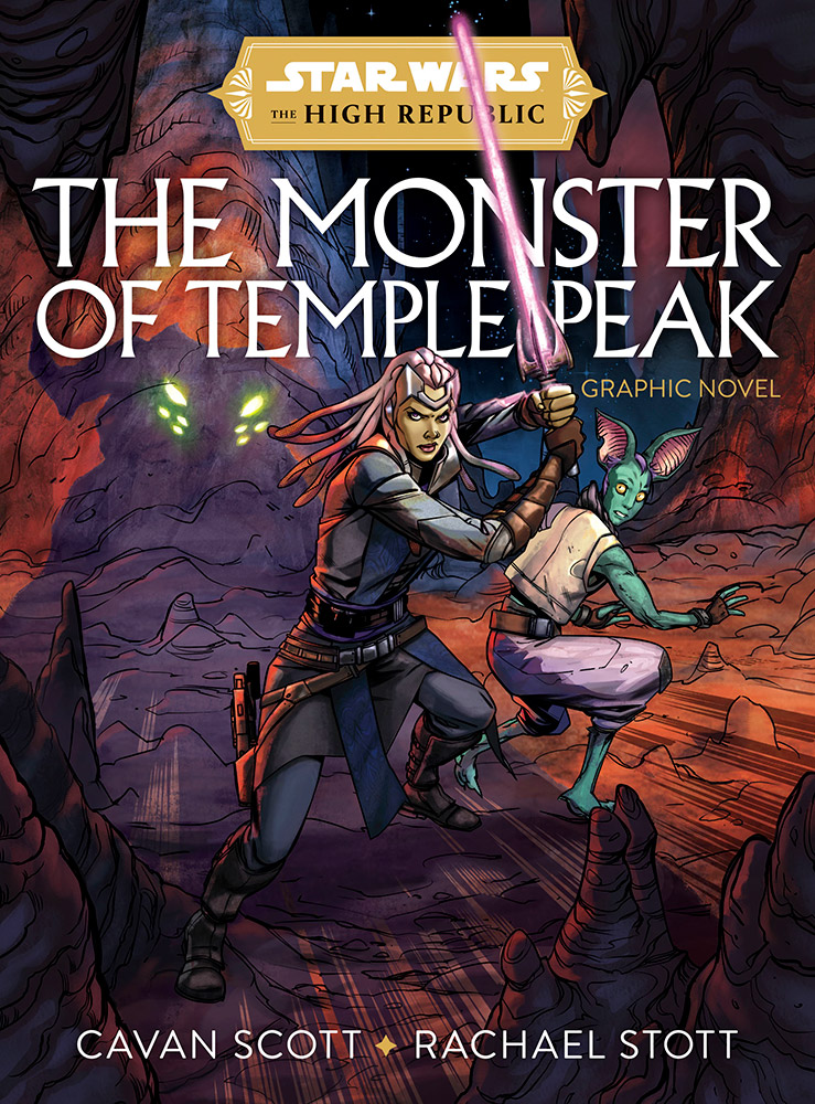 the high republic graphic novel the moster of temple peak cavan scott