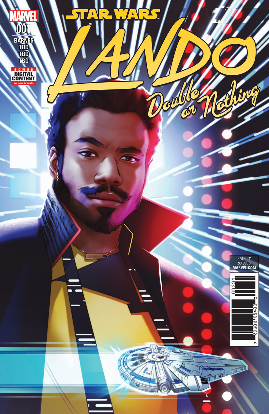 solo lando double or nothing cover