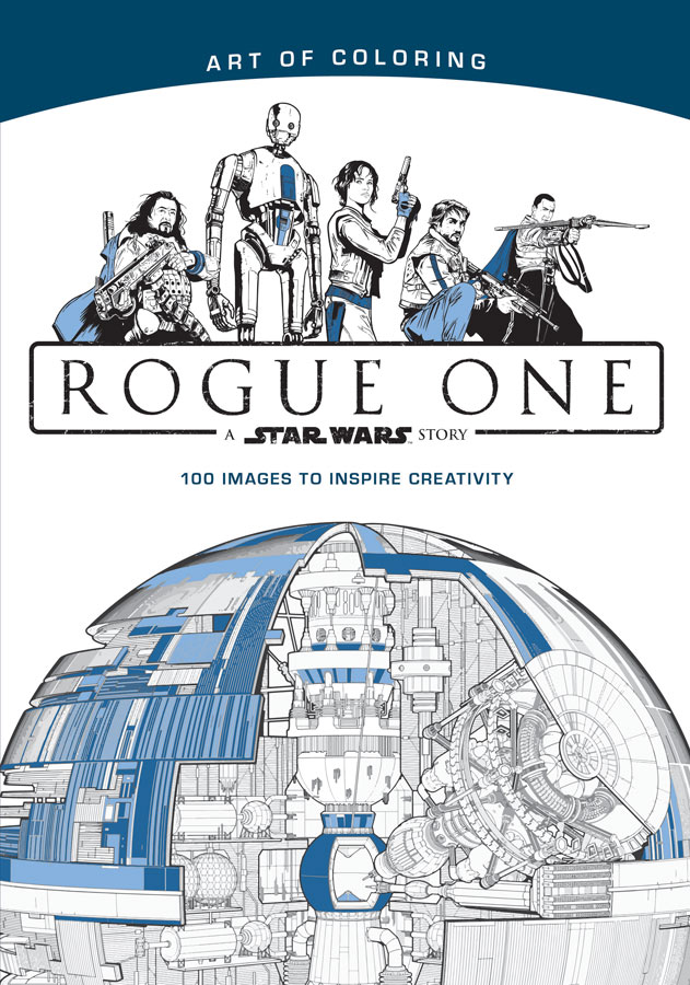 art of coloring rogue one