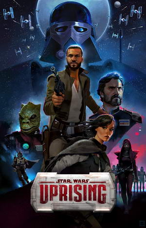 Star Wars Uprising постер