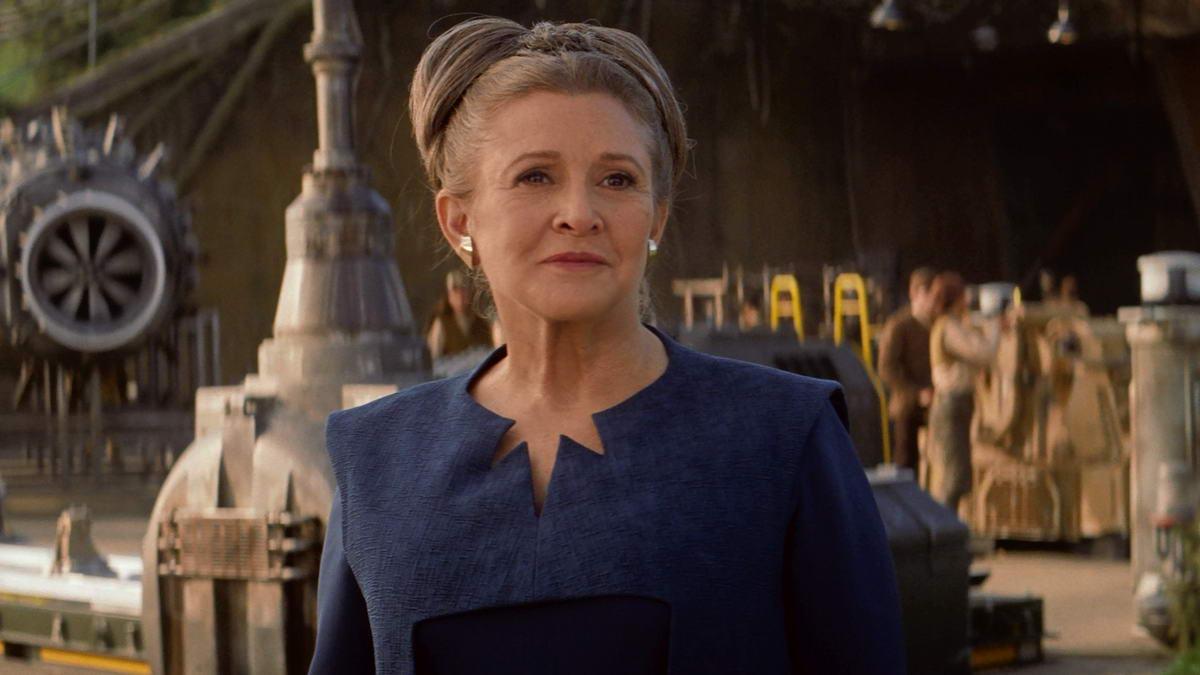 Как команда VFX из Звёздные войны: Скайуокер. Восход сняла сцены Кэрри Фишер