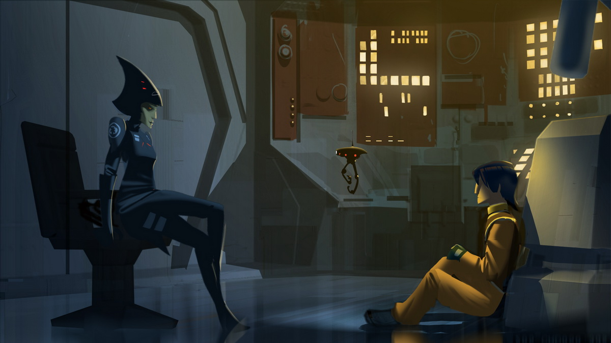 Star Wars Rebels Season Two Concept Seventh Sisiter