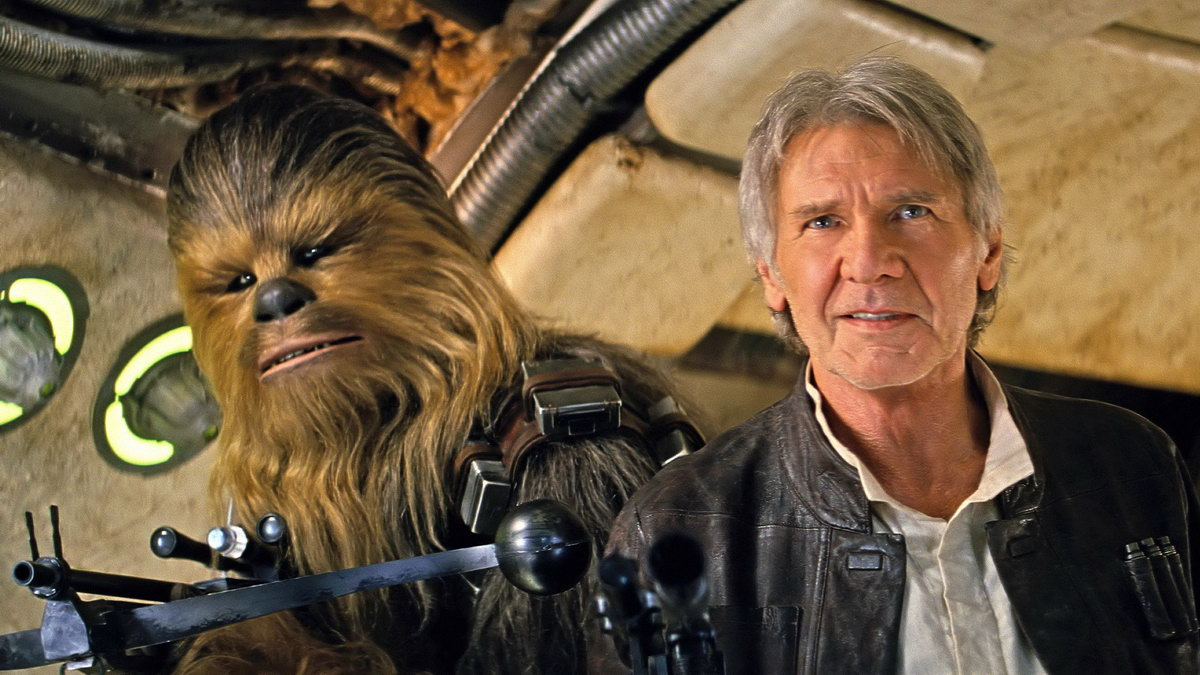 star wars episode 7 the force awakens han and chewie